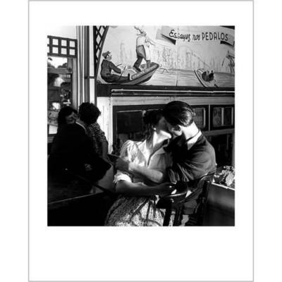 Essayez nos pédalos, 1945 , Robert DOISNEAU (1912-1994), affiche 24x30 cm