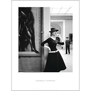 Ivy et le pied cuirassé, 1954, Georges DAMBIER, affiche 60x80 cm