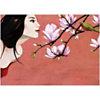 Camélias, Aline BUREAU, affiche 50x70 cm