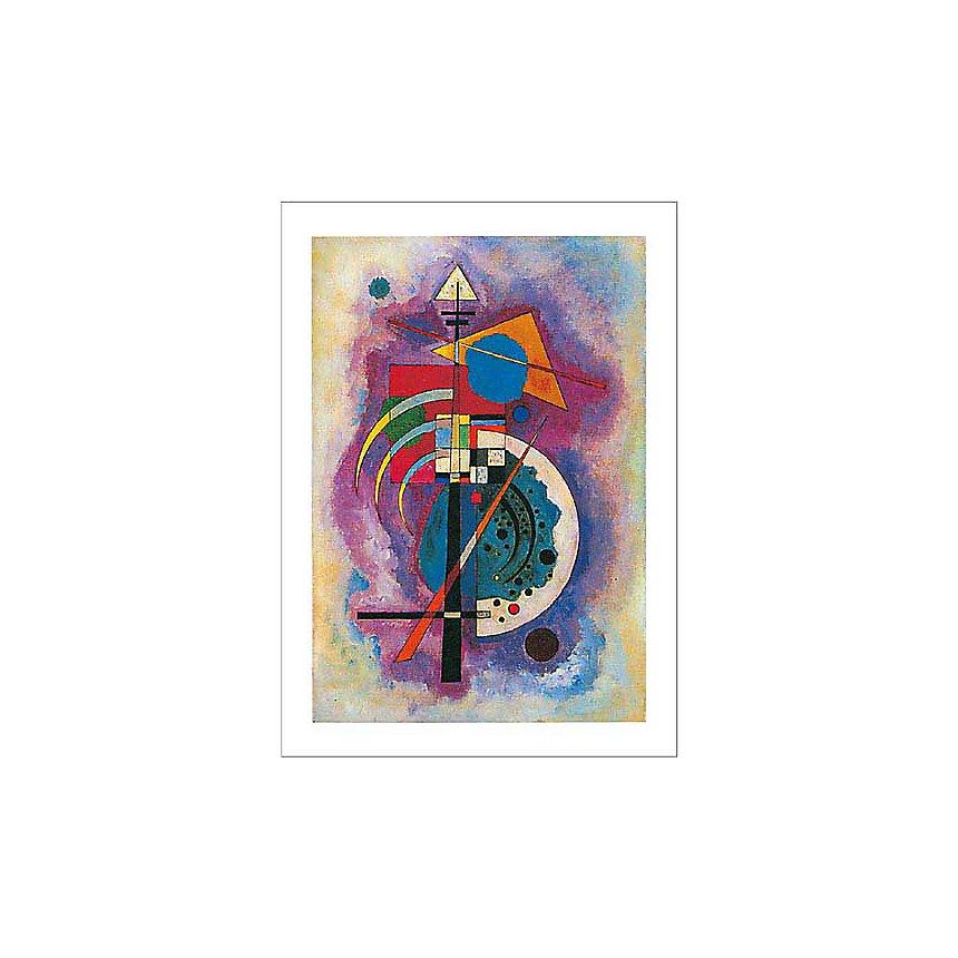 Hommage à Grohmann, Vassily KANDINSKY (1866-1944), affiche 50x70 cm