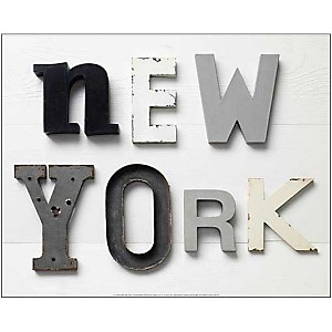 New York , Camille SOULAYROL, Louis GAILLARD, affiche 40x50 cm