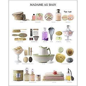 Madame au bain, Atelier Nouvelles Images, affiche 40x50 cm