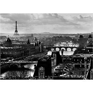 Les ponts de Paris, 1991, Peter TURNLEY, affiche 50x70 cm