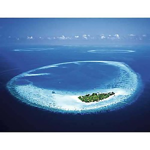 Ile de Maayafushi, Maldives, Chad EHLERS, affiche 30x40 cm