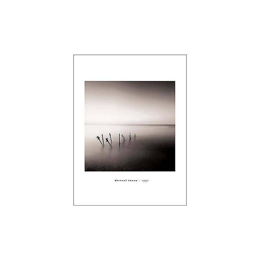 Supports de jetée, Michael KENNA, affiche 60x80 cm