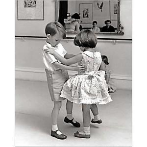 Deux petits danseurs, John DRYSDALE, affiche 24x30 cm