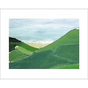 Cap Gris-Nez , Nicolas DE STAEL (1914-1955), affiche 24x30 cm