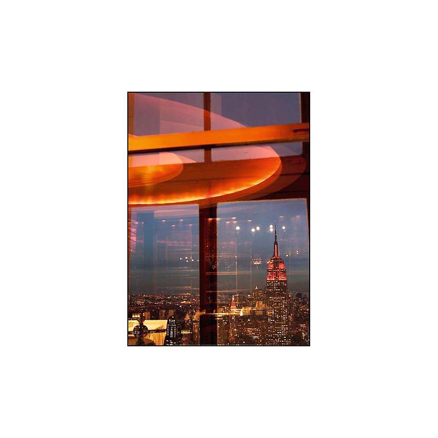 Vue de la Rainbow Room, New York , Jon ARNOLD, affiche 50x70 cm