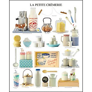 Ma petite crèmerie, Atelier Nouvelles Images, affiche 40x50 cm