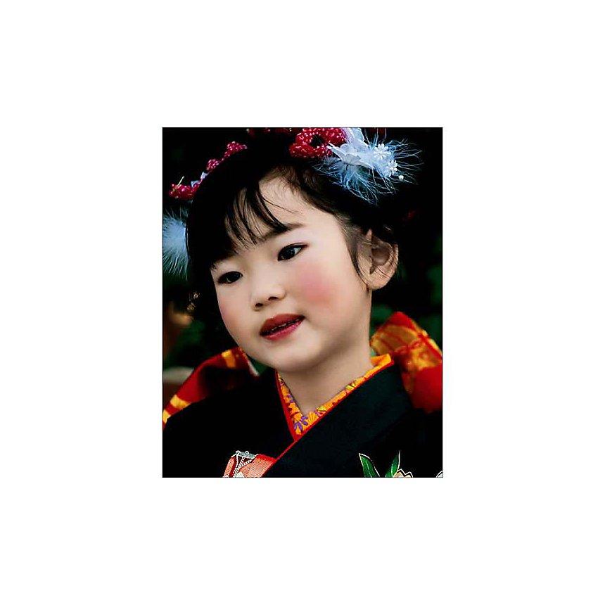 Petite Japonaise, Tokyo, Justin GUARIGLIA, affiche 24x30 cm