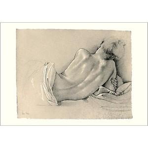 Etude pour L'odalisque, Francine VAN HOVE, affiche 70x100 cm