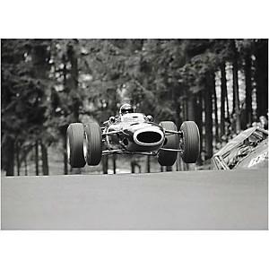 Grand Prix d'Allemagne, Rainer W. SCHLEGELMILCH, affiche 50x70 cm