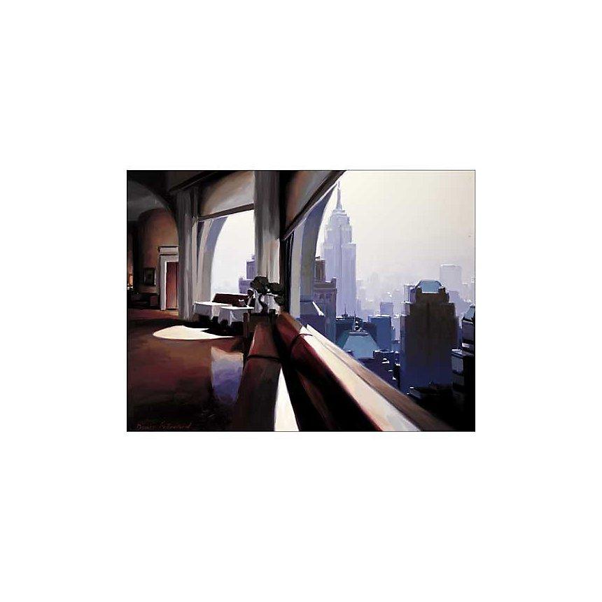 Morning Idea , Denis FREMOND, affiche 60x80 cm