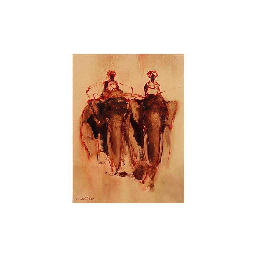 Meerut , Isabelle DEL PIANO, affiche 60x80 cm