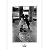 Yasmine et David, La pagode de Chanteloup, Amboise, 1967 , René BURRI, affiche 50x70 cm