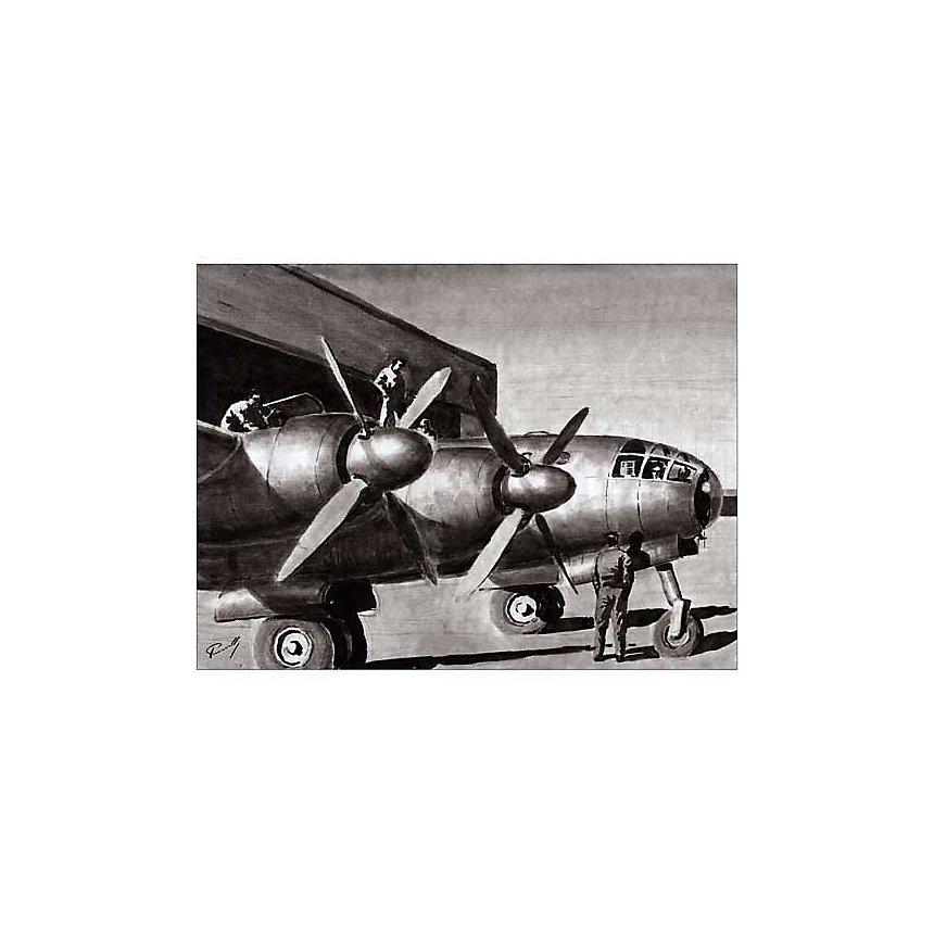 Prêt pour le vol, Lucio PERINOTTO, affiche 60x80 cm