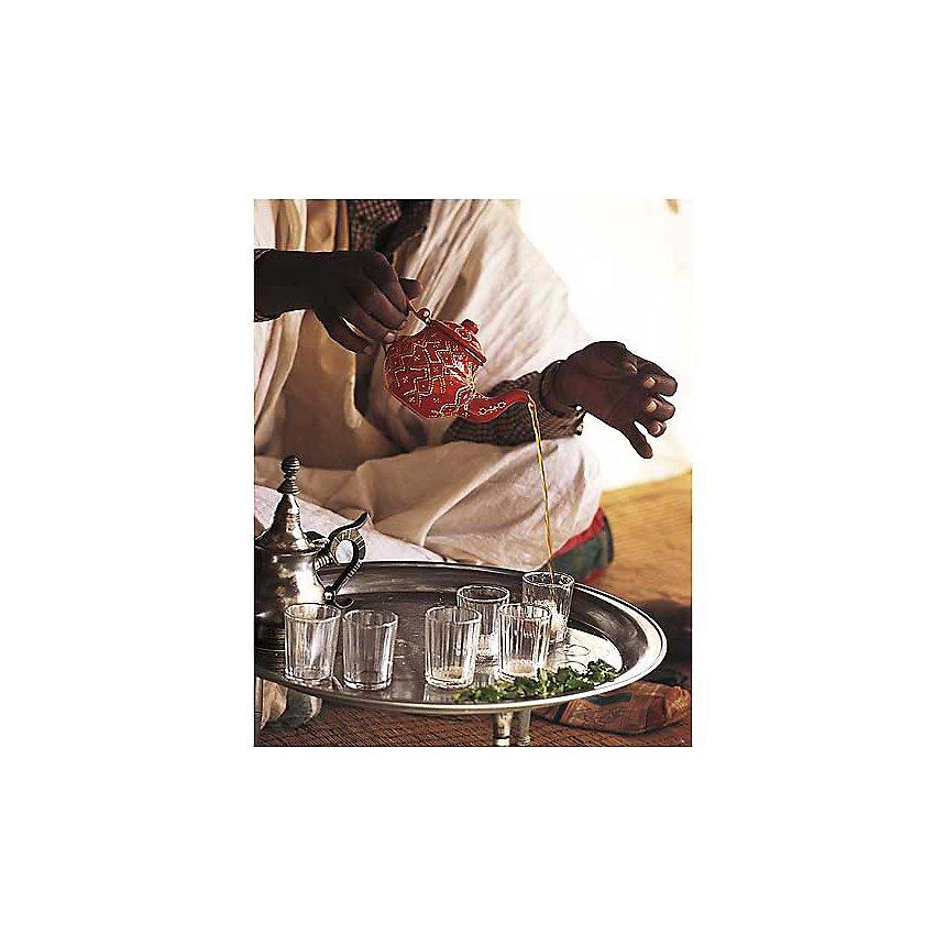 Cérémonie du thé, Jean-Marc DUROU, affiche 24x30 cm