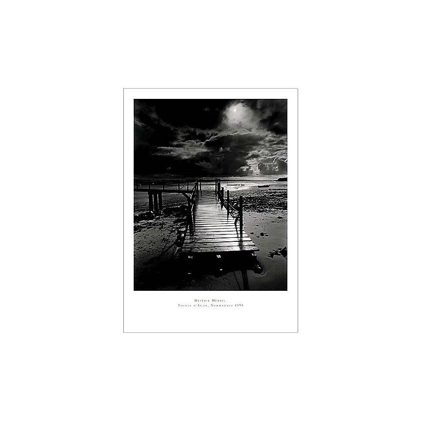 L'embarcadère , Olivier MERIEL, affiche 50x70 cm