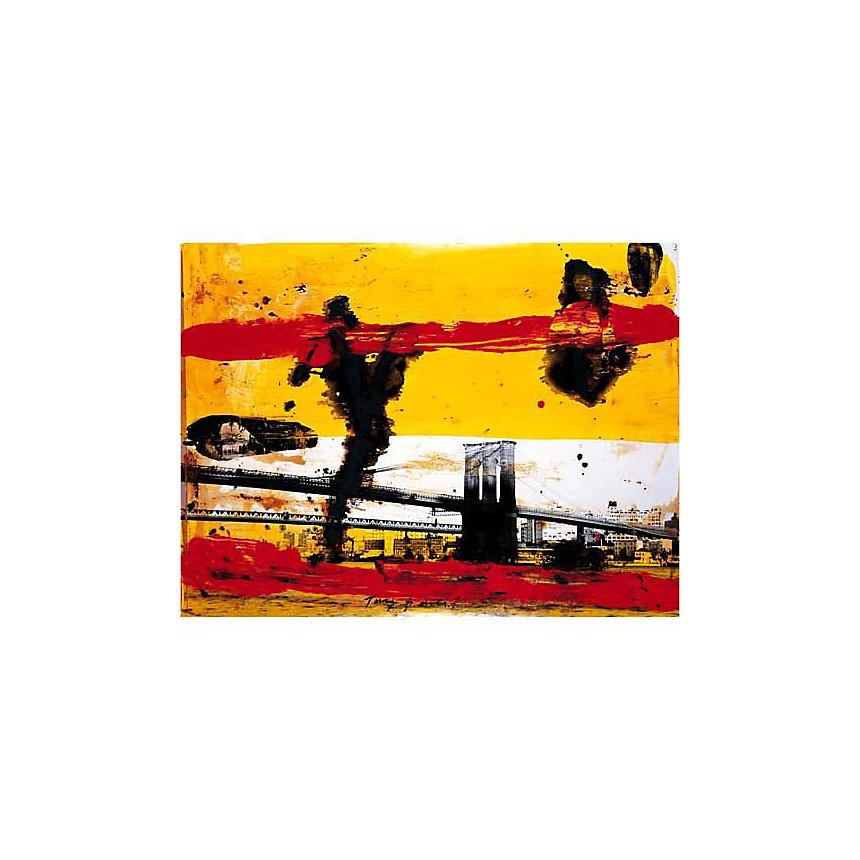 New York , Tony SOULIE, affiche 60x80 cm
