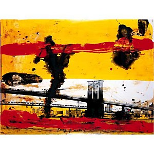 New York , Tony SOULIE, affiche 60x80 cm