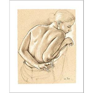 Etude pour Dames, Francine VAN HOVE, affiche 24x30 cm