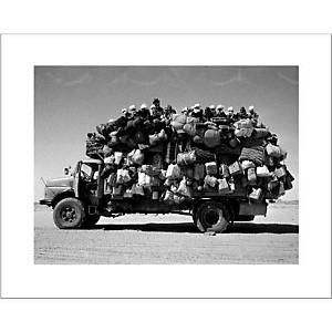 Libye, 1978, Raymond DEPARDON, affiche 24x30 cm
