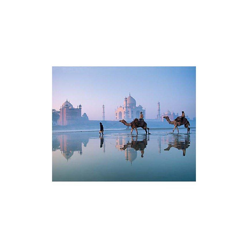 Taj Mahal, Inde, Frans LEMMENS, affiche 24x30 cm