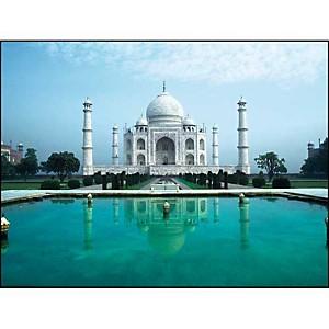 Taj Mahal, Agra, Inde, Chris COLLINS, affiche 30x40 cm