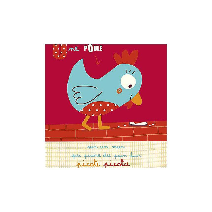 Picoti Picota , Isabelle JACQUE, affiche 24x30 cm