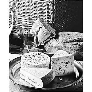 Plateau de fromages, Corinne RYMAN-Pierre CABANNES, affiche 24x30 cm