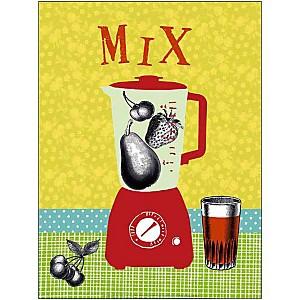 Mix , Hélène DRUVERT, affiche 30x40 cm