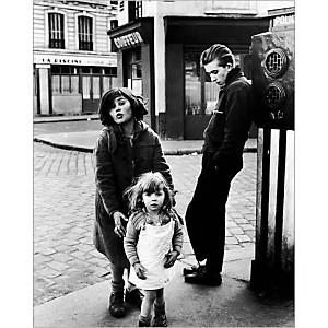 Les enfants de la place Hebert, 1957, Robert DOISNEAU (1912-1994), affiche 24x30 cm