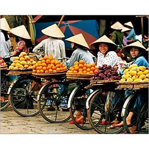 Hanoï, Vietnam, Paul CHESLEY, affiche 24x30 cm