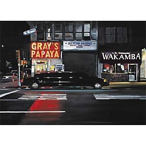 Près de Wakamba, Christophe SUSBIELLES, affiche 50x70 cm