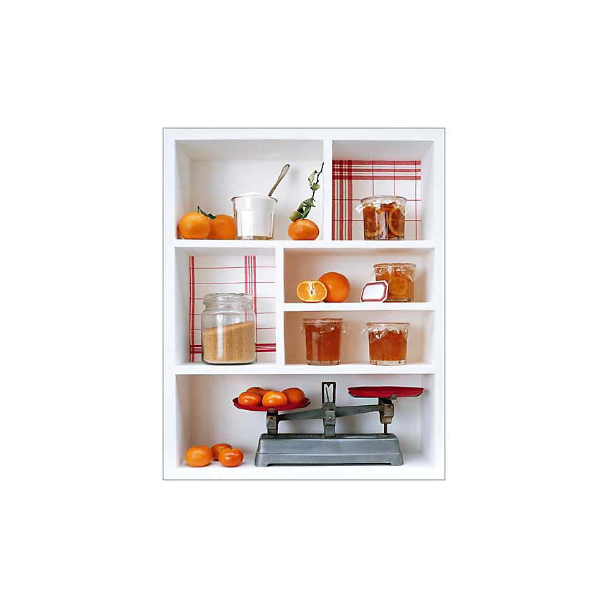 Marmelade d'orange, Camille SOULAYROL, Louis GAILLARD, affiche 24x30 cm