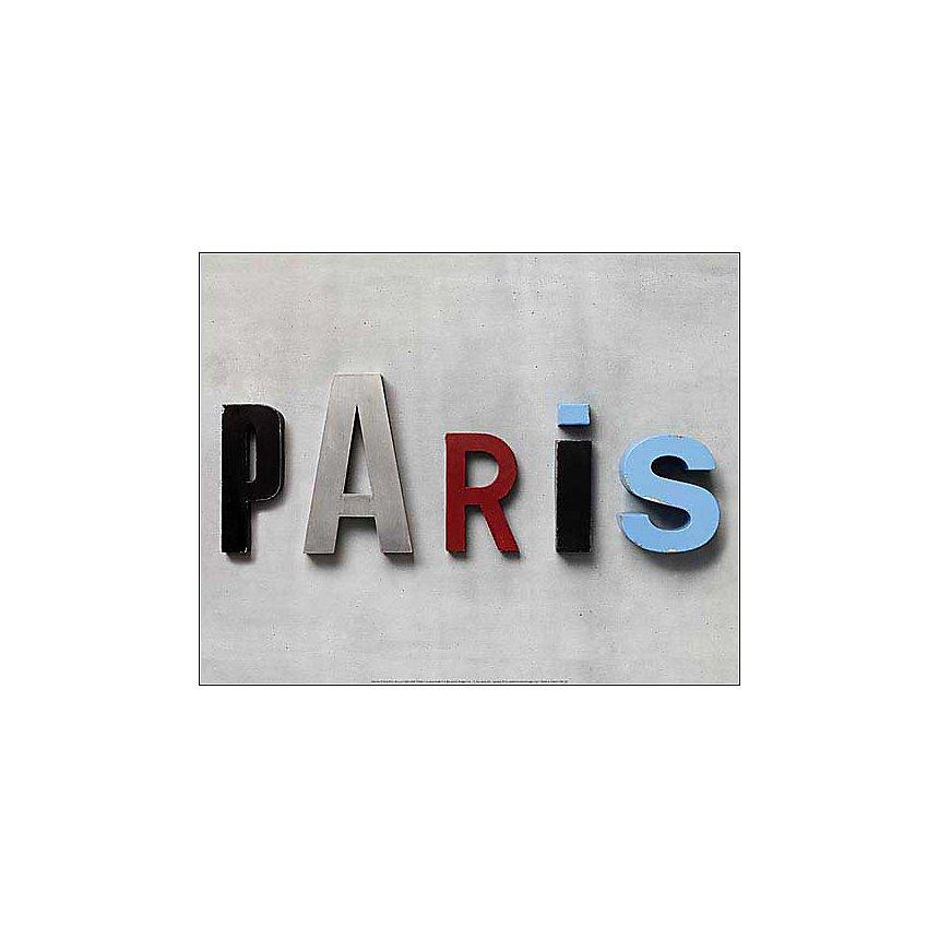 Paris , Camille SOULAYROL, Louis GAILLARD, affiche 40x50 cm