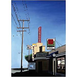 Salinas , Aviva BROOKS, affiche 50x70 cm