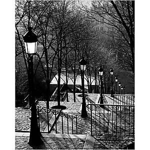 Montmartre , Sonja VAN WILLINGEN, affiche 24x30 cm