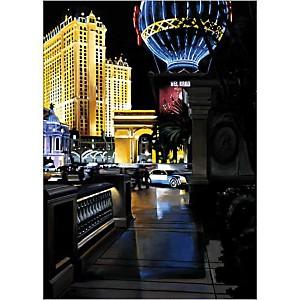 Paris Vegas , Christophe SUSBIELLES, affiche 50x70 cm