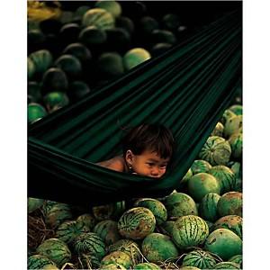 Cambodge, 1996, REZA, affiche 24x30 cm