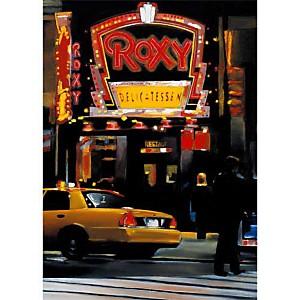 Roxy Night , Christophe SUSBIELLES, affiche 50x70 cm