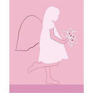 Angel , Léonor MATAILLET, affiche 40x50 cm