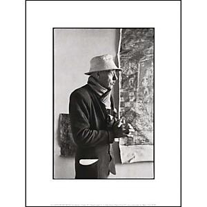 Pierre Bonnard, peintre, Le Cannet, 1951, Henri CARTIER-BRESSON (1908-2004), affiche 30x40 cm