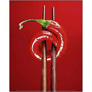 Piment rouge, Marc O. FINLEY, affiche 24x30 cm
