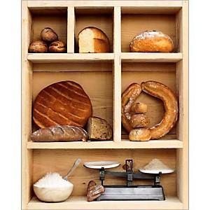 Casier à pains, Louis GAILLARD, affiche 24x30 cm