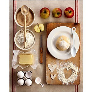 La tarte aux pommes, Camille SOULAYROL, Edouard CHAUVIN, affiche 24x30 cm