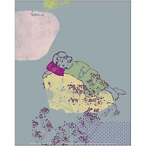 Belle endormie, Virginia CROFTS, affiche 24x30 cm