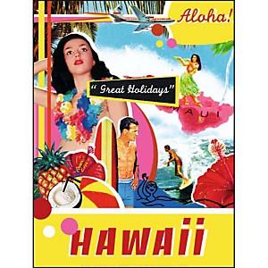 Hawaï, NATALI, affiche 30x40 cm