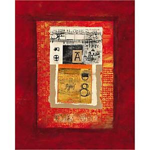 A Musique , Hélène DRUVERT, affiche 40x50 cm