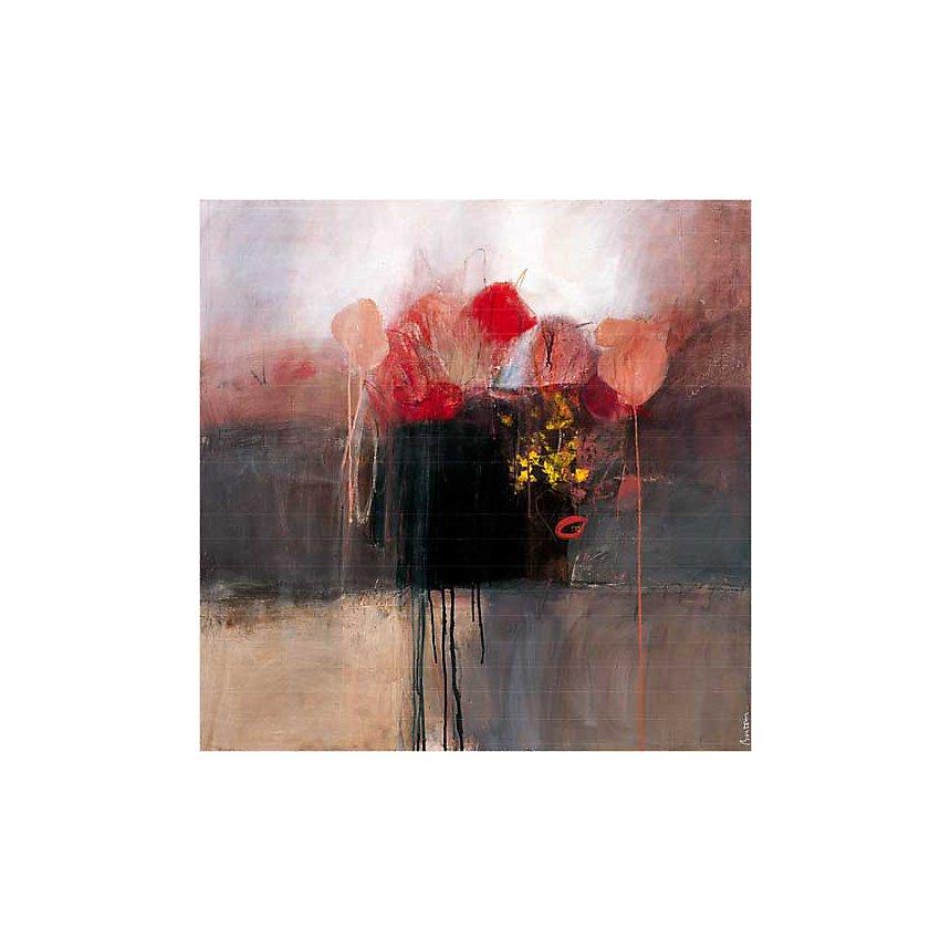 Intimes, Jocelyne BONZOM, affiche 70x70 cm